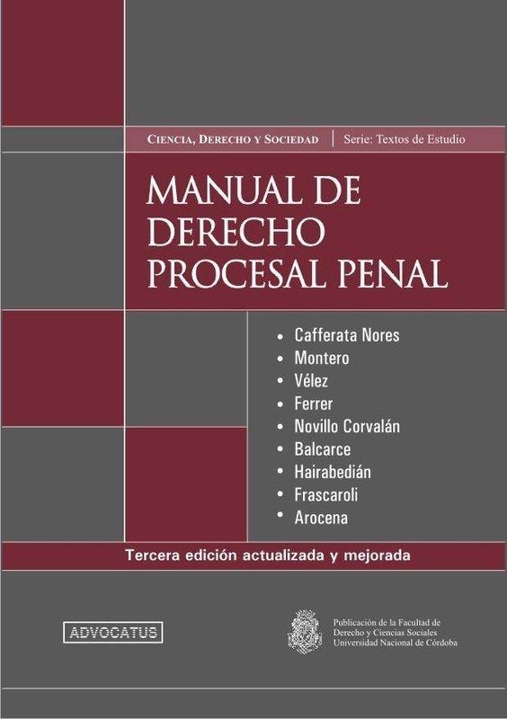 Descarga manual de derecho procesal penal (4ª edicion) | derecho.