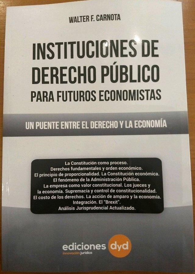 instituciones de derecho publico carnota