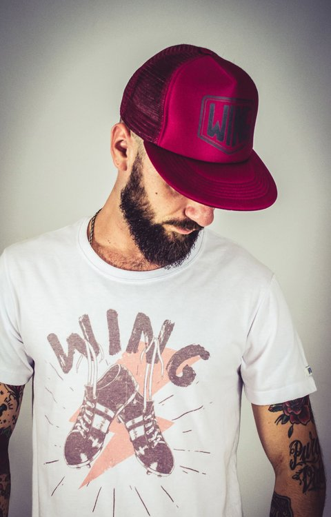 Gorra Wing Bordo