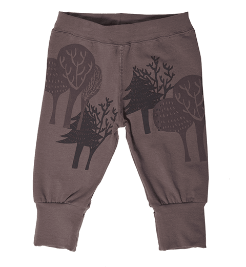 Pantalon bebe bosque chocolate