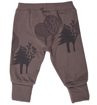 Pantalon bebe bosque chocolate - comprar online