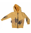 Campera bebe bosque