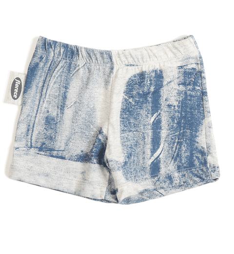 Short bebé, descarga azul