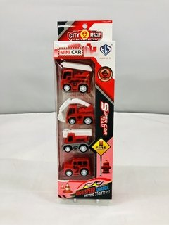 SET BOMBERO MINI 876E-13AB