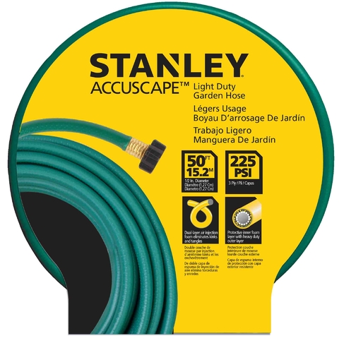 Manguera Riego 15mts Stanley Bds 7306 1/2 Con Acople 3/4