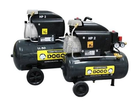 Compresor Especialista 50335 Dogo - 50 L- 2 Hp