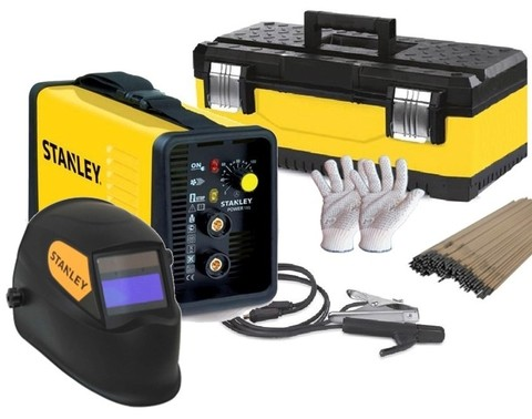 Soldadora Stanley Power 185 160 A + Mascara Fotosensible + Regalos