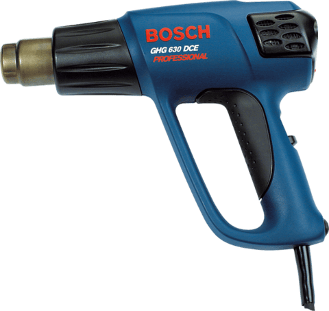 Pistola De Calor 2000w Bosch Ghg 630 Dce Display Lcd 50-650c OUTLET