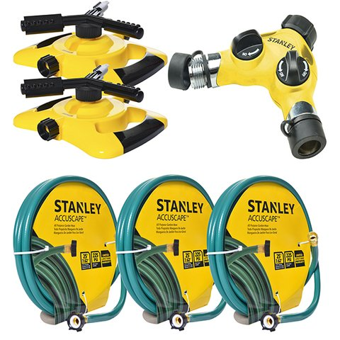 Kit De Riego Stanley Completo Para Superficies Amplias