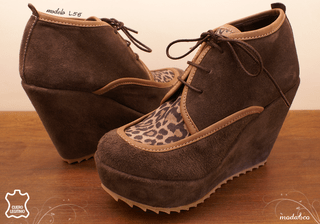 Bota L58 Chocolate/ Print en internet