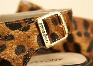 AN509 - Sandalia Anca & Co. Animal Print - comprar online