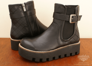 Bota Anca & Co. 6503 Negro
