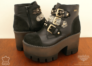 Bota Anca & Co. 7504 Negro