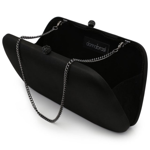 FRAN CLUTCH BLACK - MERRY JACKIE ACCESSORIES