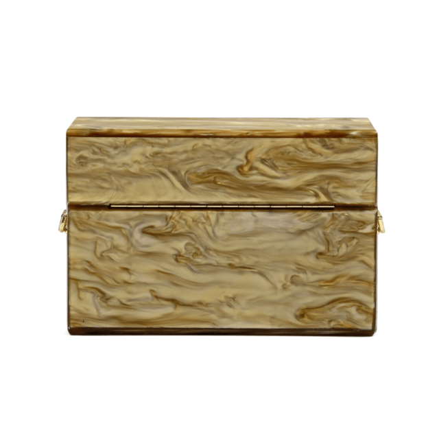 EMMA CLUTCH GOLD - MERRY JACKIE ACCESSORIES