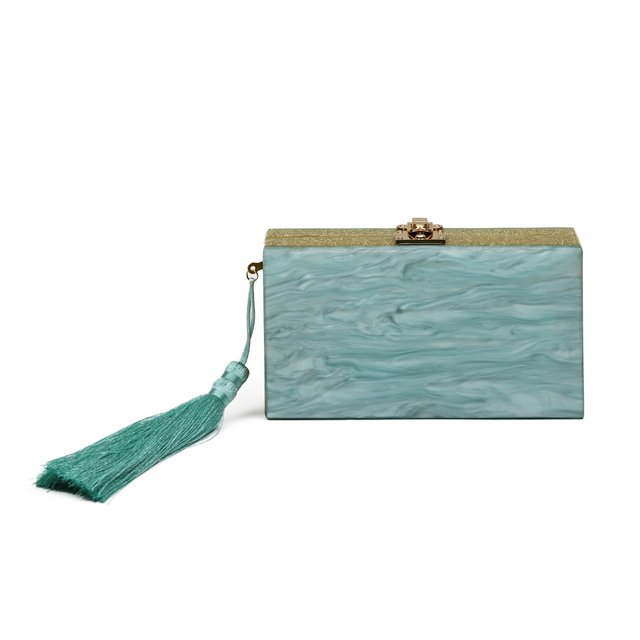 EVA CLUTCH LIGHT GREEN na internet