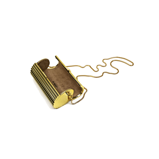 NICOLE CLUTCH GOLD - MERRY JACKIE ACCESSORIES