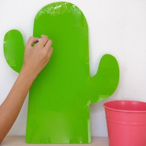 Tablero Borrable para Pared Cactus - Retro Accesorios