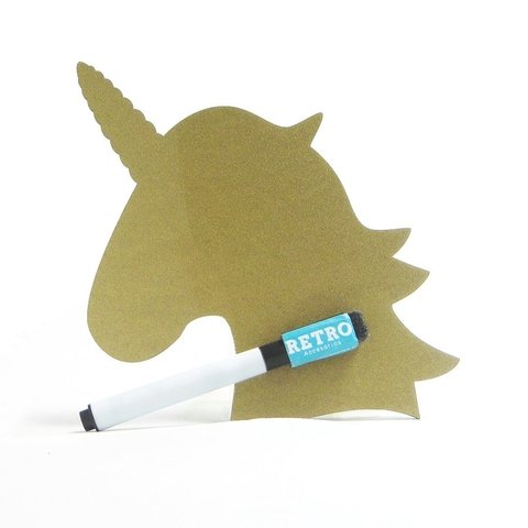 Tablero Borrable Unicornio - Retro Accesorios