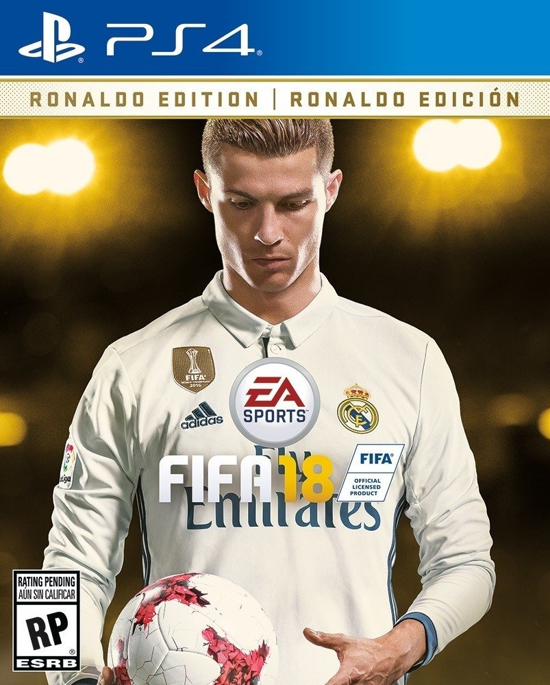PREVENTA FIFA 18 RONALDO DELUXE EDITION PS4/XBOX ONE en internet