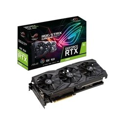 PLACA DE VIDEO RTX 2060 ASUS ROG STRIX GAMING 6GB GDDR6