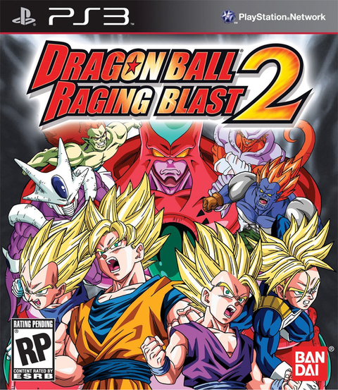 DRAGON BALL Z RAGING BLAST 2 PS3