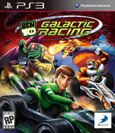 BEN 1O GALACTIC RACING PS3