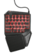 HANDED GAMING KEYBOARD ASSA - GXT 888 - TRUST
