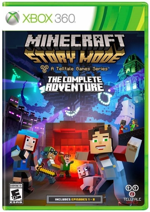 MINECRAFT STORY MODE THE COMPLETE ADVENTURE - comprar online