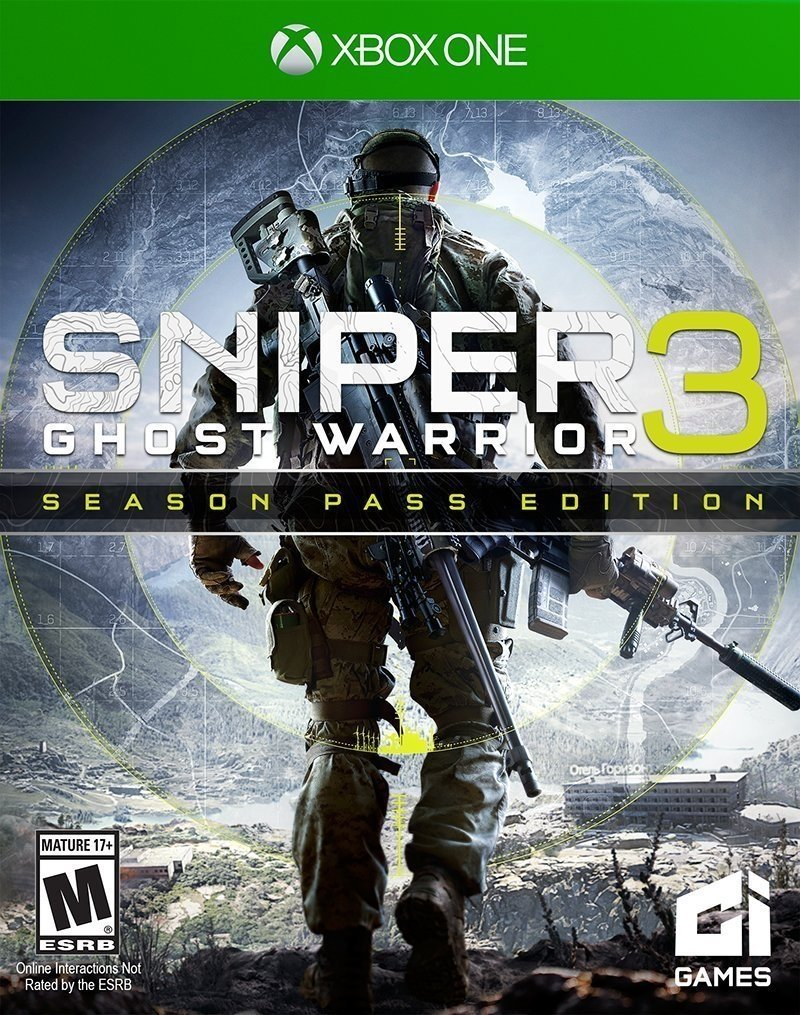 SNIPER GHOST WARRIOR 3 XBOX ONE - comprar online