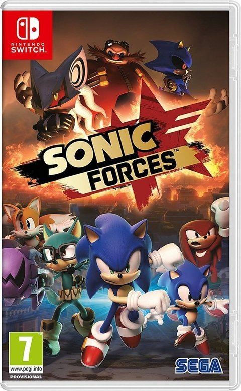 SONIC FORCES BONUS EDITION NINTENDO SWITCH - comprar online