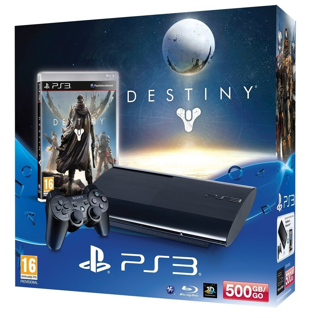 PLAYSTATION 3 500GB + DESTINY