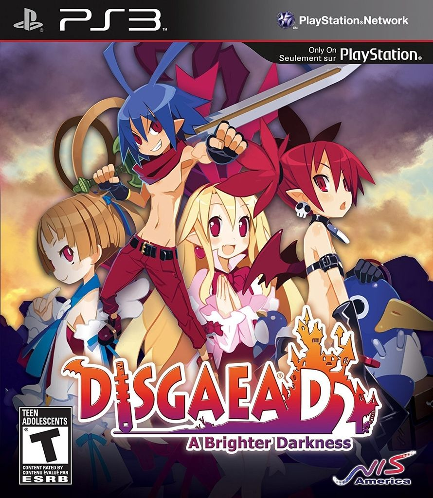 DISGAEA D2: A BRIGHTER DARKNESS PS3