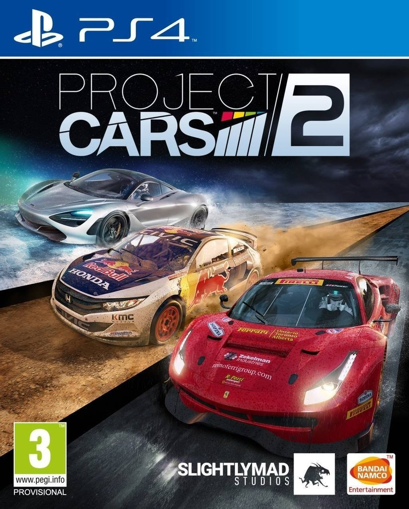 PREVENTA PROJECT CARS 2 PS4/XBOX ONE