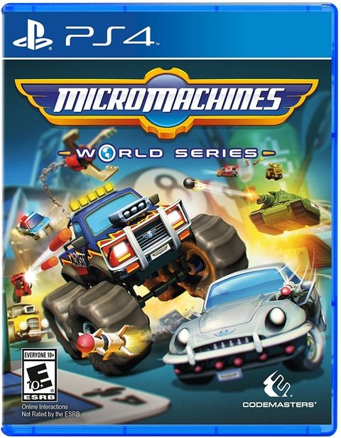 MICROMACHINES WORLD SERIES PS4