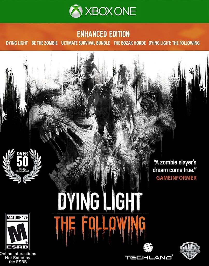 DYING LIGHT THE FOLOWING ENHANCED EDITION XBOX ONE - comprar online