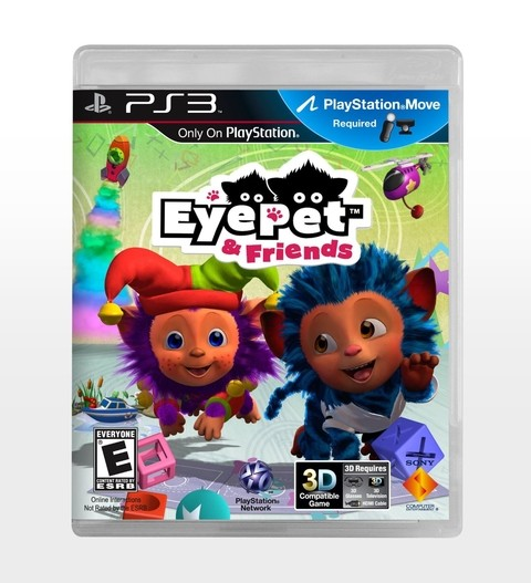 EYE PET AND FRIENDS PS3