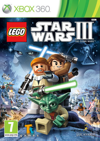 LEGO STAR WARS 3 THE CLONE XBOX 360