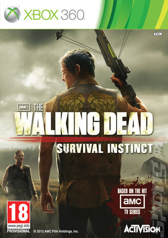 THE WALKING DEAD SURVIVAL INSTIC XBOX 360