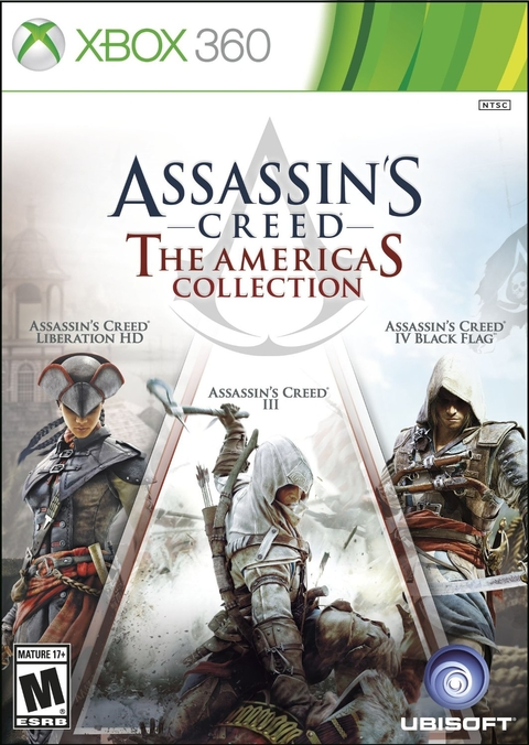ASSASSIN'S CREED THE AMERICAS COLLECTION XBOX 360 - comprar online