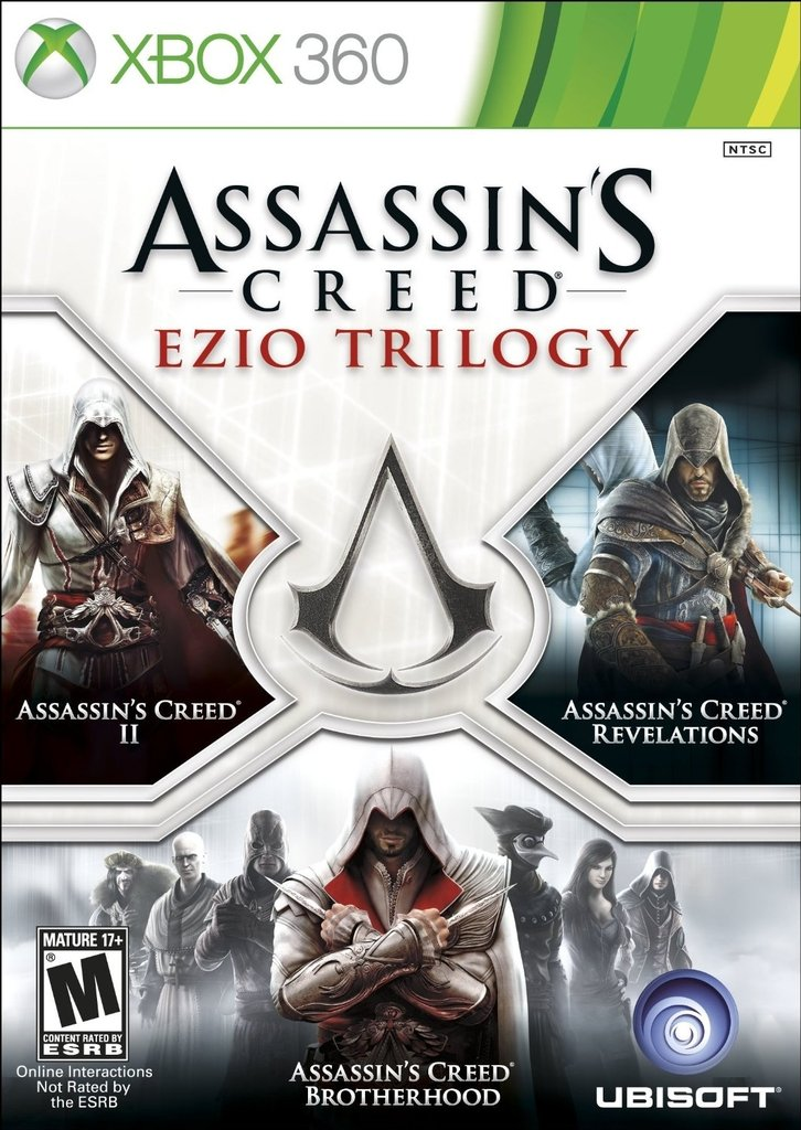 ASSASSIN'S CREED EZIO TRILOGY XBOX 360