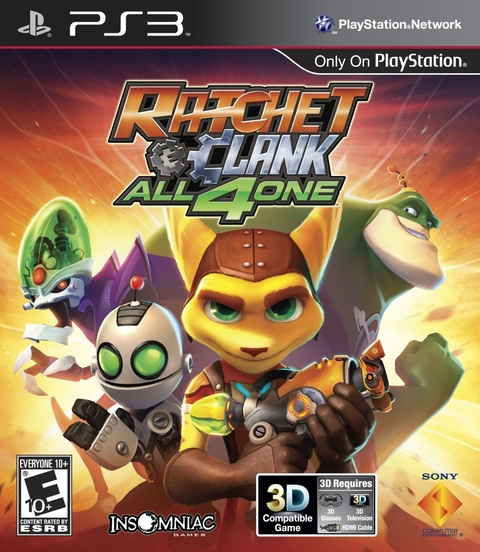 RATCHET & CLANK: ALL4ONE PS3