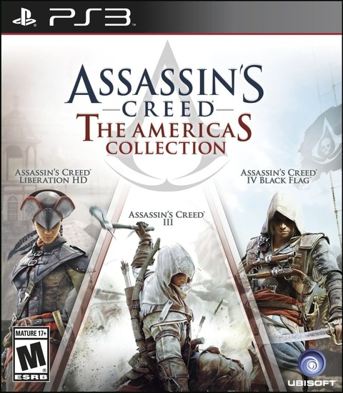 ASSASSIN'S CREED THE AMERICAS COLLECTION PS3 - comprar online