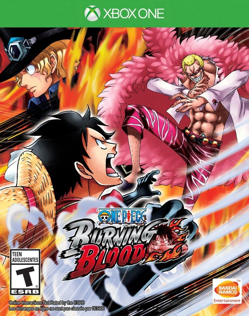 ONE PIECE BURNING BLOOD XBOX ONE - comprar online