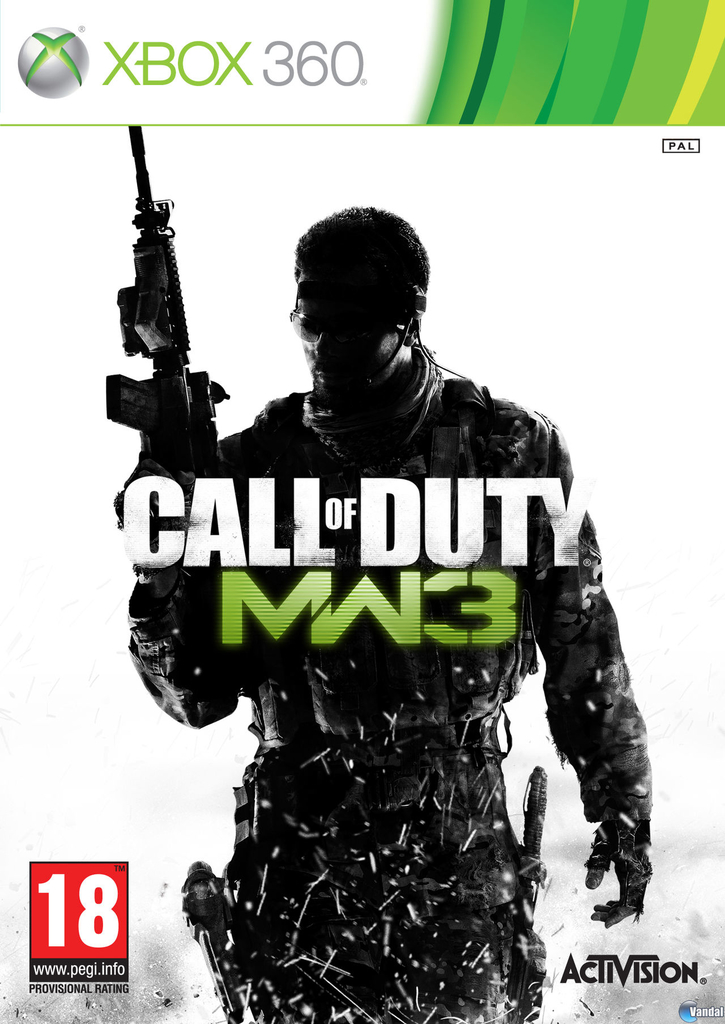 CALL OF DUTY MODERN WARFARE 3 XBOX 360 en internet