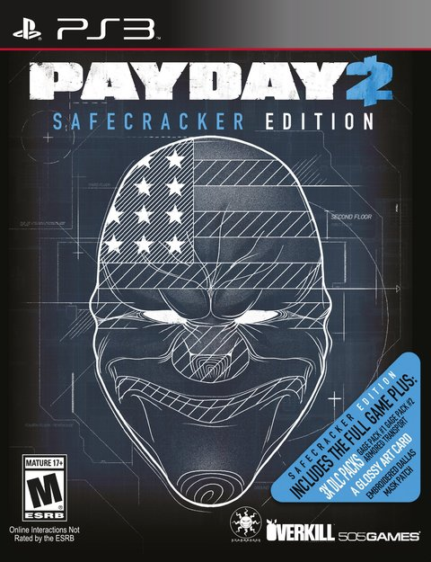 PAYDAY 2 SAFECRACKER EDITION PS3