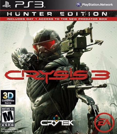 CRYSIS 3 - HUNTER EDITION PS3