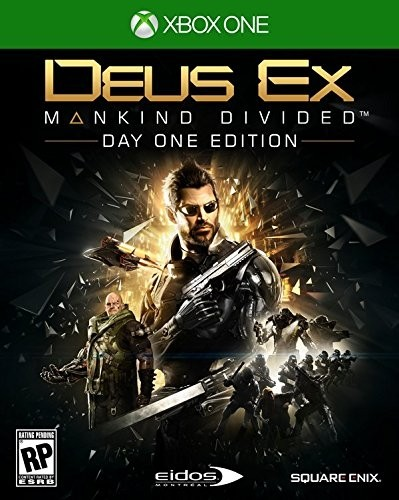 DEUS EX MANKIND DIVIDED XBOX ONE - comprar online