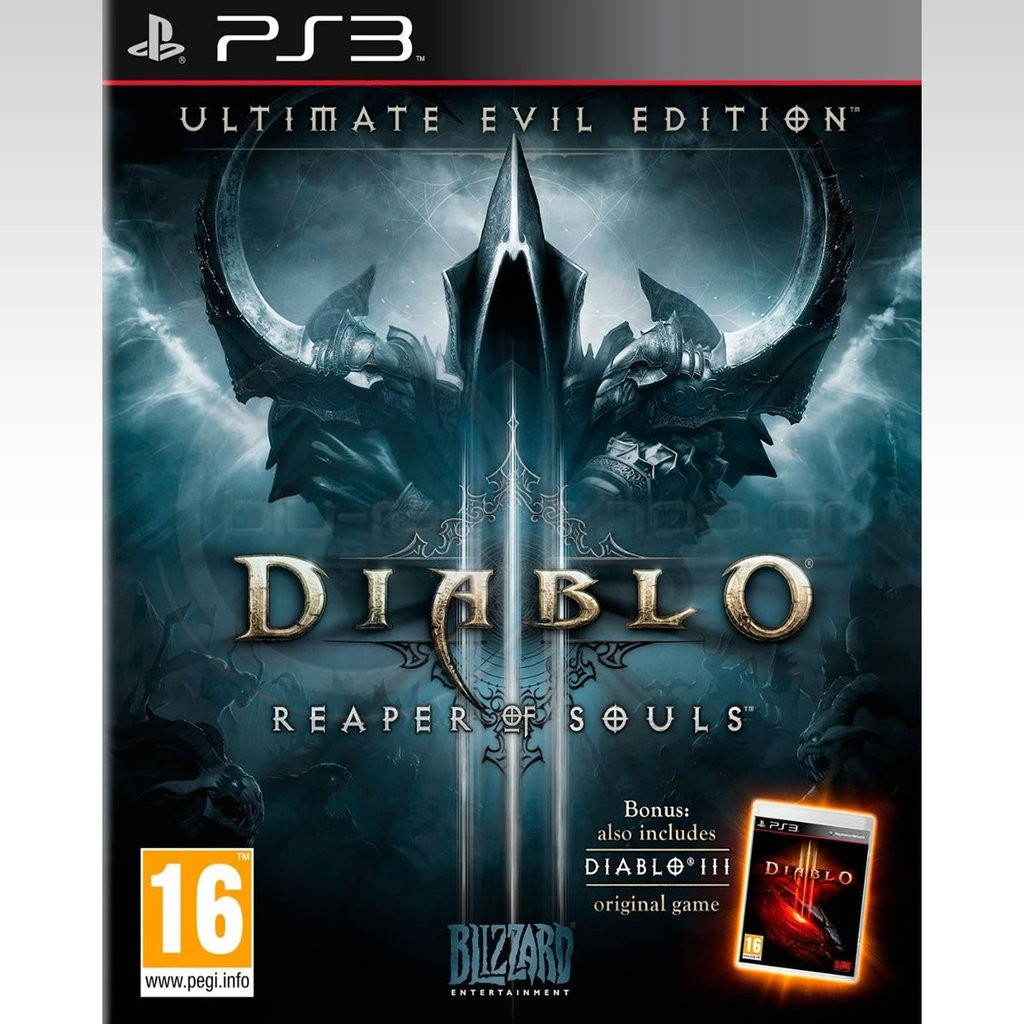 DIABLO III REAPER SOULS - ULTIMATE EVIL EDITION PS3