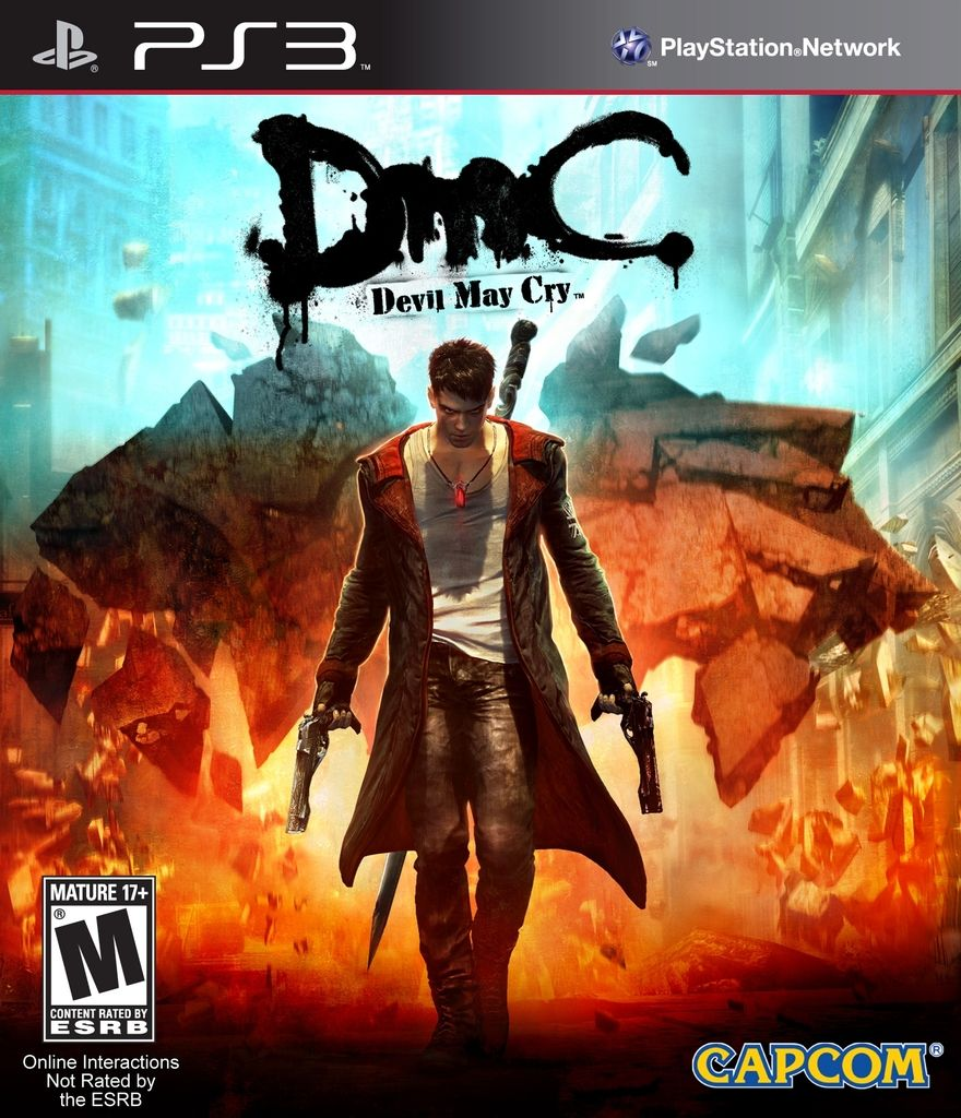 DEVIL MAY CRY DMC PS3